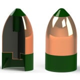 Powerbelt AeroTip Copper-Plated Muzzleloader Bullets .50 cal 295 gr AERO CHP 15/ct