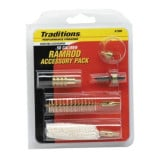 Traditions Ramrod Accessories Pack for Muzzleloader .50 cal (5 popular tips) 10/32 threads
