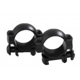 "Traditions Aluminum Scope Rings fits Weaver Style Bases 1"" Med - Matte Black"