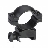 "Traditions Aluminum Scope Rings fits Weaver Style Bases 1"" High - Matte Black"