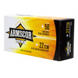 Advanced Tactical Firearms Armscor Hand Ammunition .22TCM 40 gr JHP 50/ct
