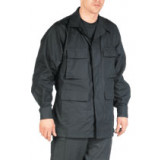 Tru-Spec BDU Coat  - Black Small Long