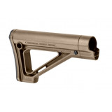 Magpul  MOE Fixed Carbine Stock  Fits AR Rifles  Mil-Spec  Flat Dark Earth MAG480-FDE