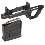 Magpul Bolt Action Magazine Well for Hunter 700 Stock  Includes (1) PMAG 5 7.62 AC  Black MAG497-BLK