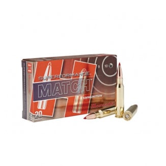 Hornady Superformance Match Rifle Ammunition .308 Win 168 gr ELD 2840 fps 20/ct