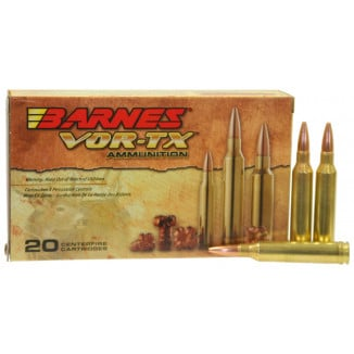 Barnes VOR-TX Rifle Ammunition 7mm Mag 160 gr TSX 2950 fps - 20/box