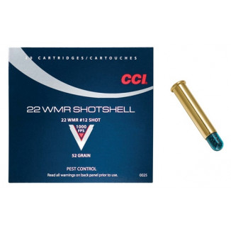 CCI Rimfire Shotshell Ammunition .22 WMR #12 20/box