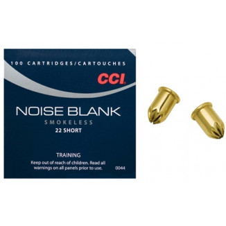 CCI .22 Short Rimfire Blanks - 100/box