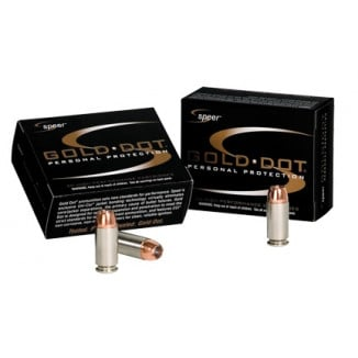 Speer Gold Dot Short Barrel Handgun Ammunition .40 S&W 180 gr HP  20/box