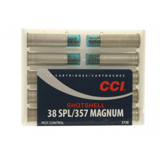 CCI Handgun Shotshells .357 Mag 100 gr #9 shot 1000 fps 10/box