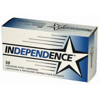 Independence Handgun Ammunition .38 Spl  FMJ  50/box