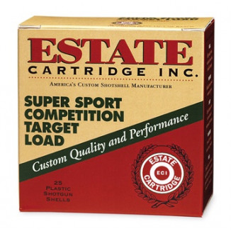 "Estate Cartridge Super Sport 12 ga 2 3/4""  1 oz #8 1290 fps - 25/box"
