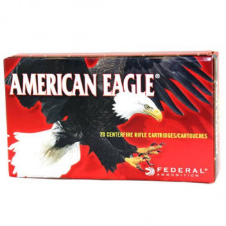 Federal American Eagle Rifle Ammunition .22-250 50gr Jacketed Hollow Point 20 Rounds/Box