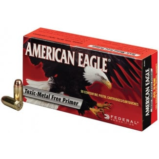 American Eagle IRT Handgun Ammunition .40 S&W 180 gr TMJ 1000 fps 50/ct