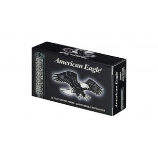 Federal American Eagle Suppressor Handgun Ammunition .45 Auto 230 gr FMJ 840 fps 50/ct