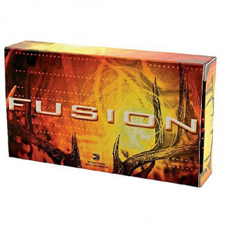 Federal Fusion Rifle Ammunition 6.5x55mm Swedish 140 gr BTSP 2530 fps - 20/box