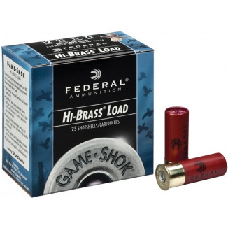 "Federal Game-Shok Upland Game - Hi Brass Load - 16ga 2-3/4"" 1-1/8oz. #7.5-Shot 25/Box"