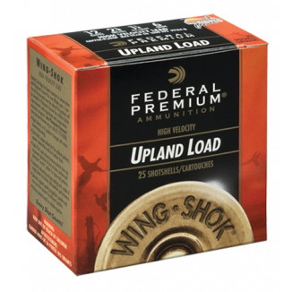 "Federal Premium Wing-Shok Hi Brass 28 ga 2 3/4"" 3/4 oz #6 - 25/box"