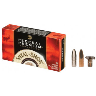 Federal Premium Vital-Shok Rifle Ammunition .30-06 Sprg 200 gr TBBC 2540 fps - 20/box
