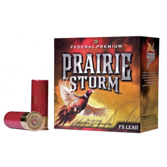"Federal Premium Prairie Storm FS Lead with FliteControl Wad - 12ga 2-3/4"" 1-1/4oz. 6-Shot 25/Box"