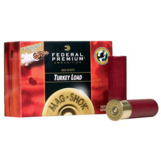 "Federal Premium Mag-Shok Turkey 12 ga 2 3/4"" MAX 1 1/2 oz #6  - 10/box"