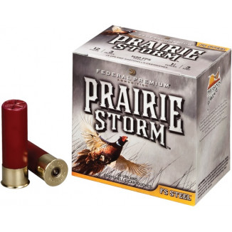 "Federal Premium Prairie Storm FS Steel with FliteControl Wad 20 ga 3"" 7/8 oz #4 25/Box"