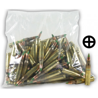 Federal Lake City XM855 Green Tip Ammunition 5.56mm 62 gr FMJ 3020 fps - 100/box