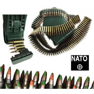 Federal NATO 5.56 Rifle Ammunition 5.56mm FMJ-BT  800/Box