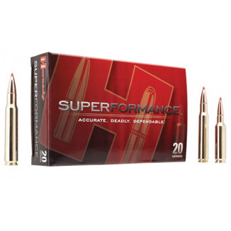 Hornady Superformance Rifle Ammunition .308 Win 165 gr GMX 2750 fps - 20/box