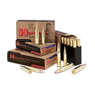 Hornady Match Rifle Ammunition .338 Lapua Mag 250 gr BTHP 2900 fps - 20/box