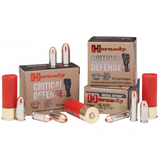 Hornady Critical Defense Handgun Ammo .32 NAA 80 gr FTX - 25/box