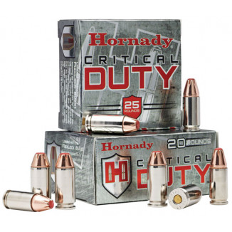 Hornady Critical Duty Handgun Ammo .40 S&W 175 gr Flex Tip 1010 fps 20/box
