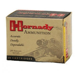 Hornady Custom Handgun Ammunition .480 Ruger 325 gr XTP-Mag 1350 fps 20/box