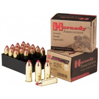 Hornady LEVERevolution Handgun Ammunition .45 Colt 225 gr FTX 960 fps 20/box