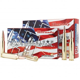 Hornady American Whitetail Rifle Ammunition 7mm 08 Rem 139 gr SP 2608 fps - 20/box