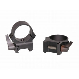 Leupold 2-Piece QRW (Weaver Style Quick Release) Rings - 30mm High, Matte