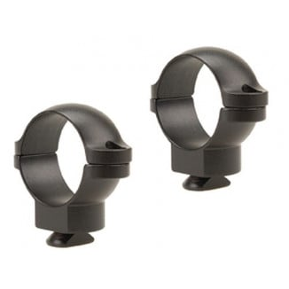 "Leupold 2-Piece Dual Dovetail Rings - 1"" Medium, Matte"