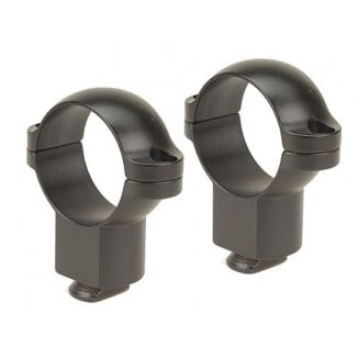 "Leupold 2-Piece Dual Dovetail Rings - 1""  Super High, Matte"