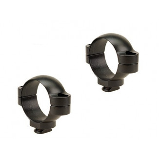 Leupold 2-Piece Dual Dovetail Rings - 30mm Medium, Matte