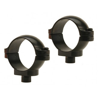 "Leupold 2-Piece Quick Release (QR) Scope Rings - 1"" Low, Gloss"