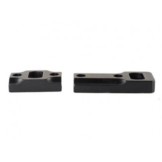 Leupold 2-Piece Dual Dovetail Base - Browning A-Bolt Reversible Front, Matte Black