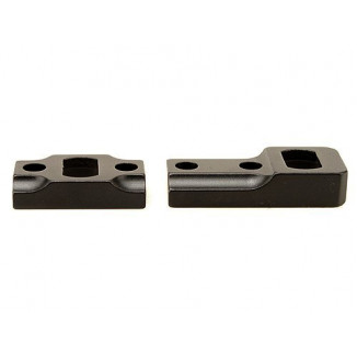 Leupold 2-Piece Dual Dovetail Base - Weatherby Mark V, Matte Black