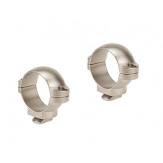 "Leupold 2-Piece Dual Dovetail Rings - 1"" Low, Silver"