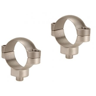 Leupold 2-Piece Quick Release (QR) Scope Rings - 30mm High, Silver
