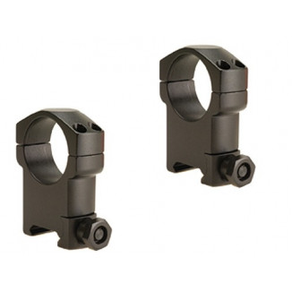 Leupold 2-Piece Mark 4 Steel Scope Rings 30mm Super High, Matte Black
