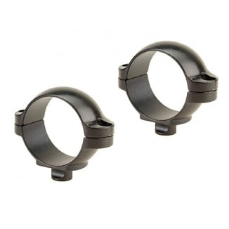 "Leupold 2-Piece Quick Release (QR) Scope Rings - 1"", Super Low, Matte"