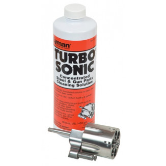 Lyman Turbo Sonic Ultrasonic Steel & Gun Parts Cleaning Solution - 16 oz
