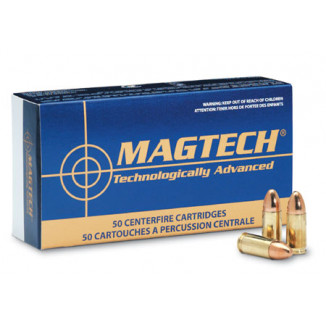 MagTech Handgun Ammunition .25 ACP 50 gr FMJ 760 fps 50/box