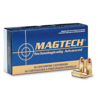 MagTech Handgun Ammunition 9mm Luger 147 gr FMJ 990 fps 50/box