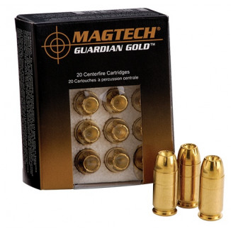 MagTech Guardian Gold .38 Spl (+P) 125 gr JHP 1017 fps 20/box